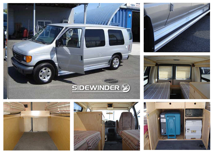 Wheelchair Accessible Travel Van